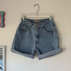 VINTAGE HIGH WAIST DENIM GUESS SHORTS